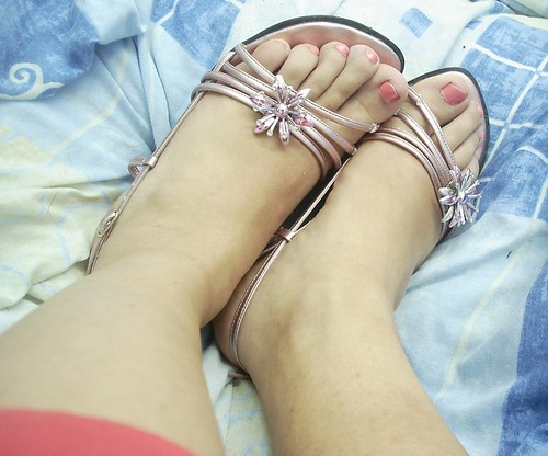For my painted toe fans.