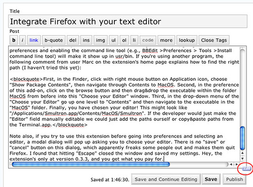 Integrate Firefox with your text editor | India, Ink