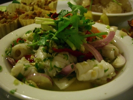 Asian Tapas - Squid Salad