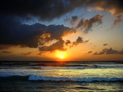 3rd Anniversary Sunrise (Miharbi) Tags: ocean morning male clouds sunrise surf waves spot ibrahim maldives raalhugandu abigfave miharbi