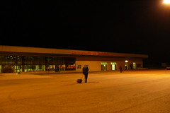 Aeropuerto de Badajoz por el otro lado (21:15)