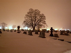 Grave yard (Allie's.Dad) Tags: snow graveyard lights pennsylvania headstones explore harrisburgpa topic yourfavorites gravestombsandcemeteries views800 favorites10 mywinners anawesomeshot wowiekazowie picturepages