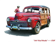 1947 Ford Woodie (kenmojr) Tags: auto classic ford car antique hotrod woodie krm kenmojr