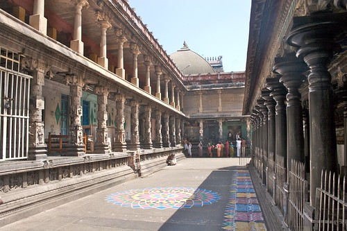 Behind the Govindaraja Shrine