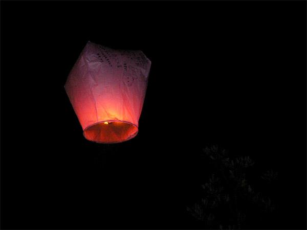 Sky Lamp in Tamshui