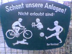 Kinder verboten