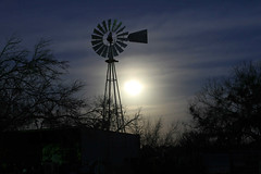 windmill under a full moon (bruce c eichman photography) Tags: poteet texas 78065 3 march 2007 tx lunar eclipse windmill full moon partial night shoot shot avaliable light stars tractor trailer shed barn aermotor chicago nana pawpaw boob bub eichman strawberry top20texas atascosacounty betterthangood bvt1 nocturnal bruceceichmanphotography sky dark after mond bestoftexas strawberrycapitaloftexas bceichman02 bruce c photography ©allrightsreserved