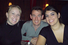 Meggan, Darren and Stephanie