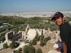 Odeon Herodes Atticus di Acropolis, Athens, Greece