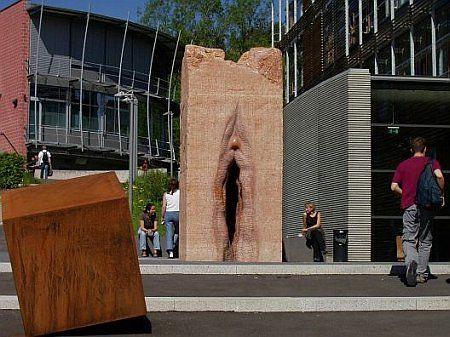 Staty vid Tuebingen Universitet, Tyskland