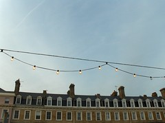No. 71e - 2007 (thegoalissoul.emma) Tags: houses beach worthing skyvapourtraillights