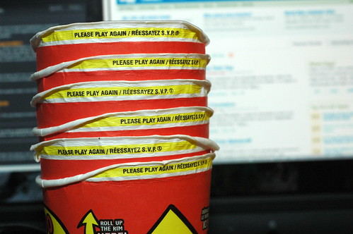 Tim Hortons Roll Up The Rim - #15 - 20