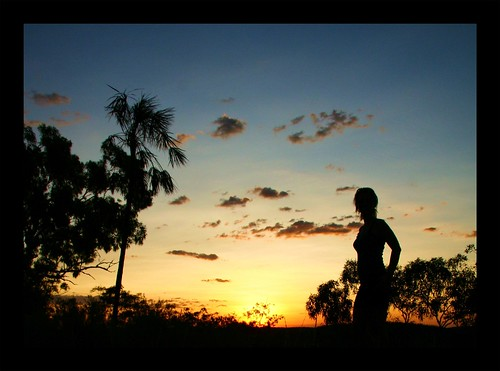 Australien - Sunset Katherine National Park
