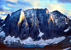 The Rockwall (xtremepeaks) Tags: park sunset mountain lake snow canada clouds spectacular landscape evening bc hiking glacier kootenay icefloe specland abigfave favemegroup5 xtremepeaksgetty