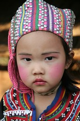 Full moon (janchan) Tags: portrait people children thailand costume retrato documentary myanmar ethnic ritratto hilltribes reportage goldentriangle bambino lahu whitetaraproductions
