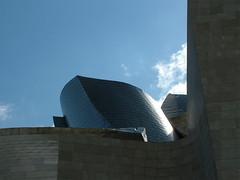 Bilbao, Guggenheim museum detail (Hallom) Tags: spain bilbao guggenheim musuem