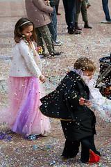 Confetti fight