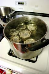 Mango Chutney in Boiling Water Bath