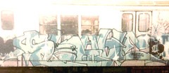 SLAVE_FAB5 (Zomboider) Tags: newyork subway graffiti panel oldschool slave tf5