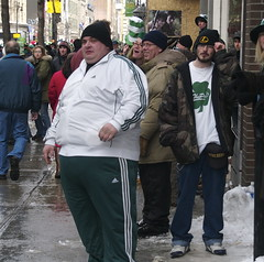 St. Patrick's Day Parade Montreal 2007 (colros) Tags: montreal parade stpatricks obesity foodaddiction