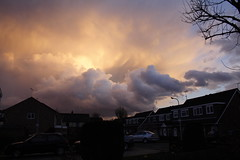 Storm Over Southampton (farmerytwang) Tags: uk sky storm southampton cloudformations helluva blueribbonwinner