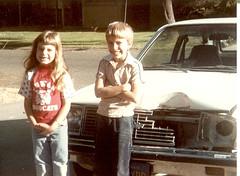 Oops (Fossil Freak) Tags: car ouch bernadette vince 1984