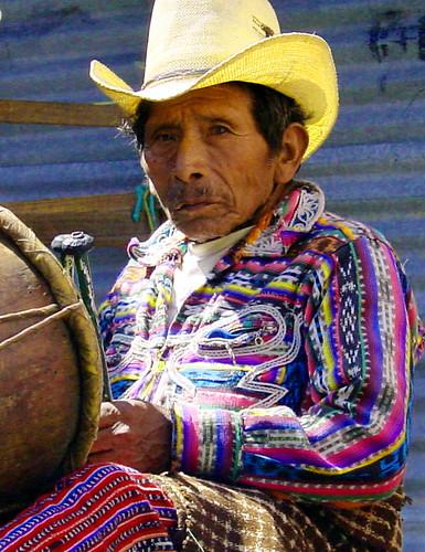 Mayan drummer
