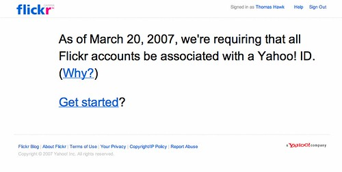 Old Skool Flickr is Dead