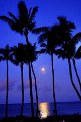 Full Moon Sunrise (EncinoMan) Tags: moon beach sunrise hawaii searchthebest maui full moonset wailea impressedbeauty superhearts