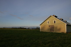 Good morning! (Librarianguish) Tags: spring sunny coupeville 307 earlymorninglight