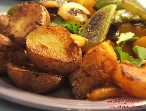 vegetarian annatto ghee roasted vegetables easy recipe