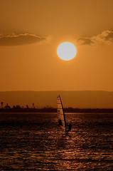 Windsurfer (graspnext) Tags: sunset mexico cortez lapaz windsurfer seaofcortez superhearts