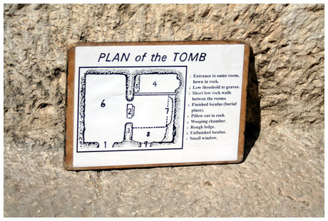 Tomb floorplan