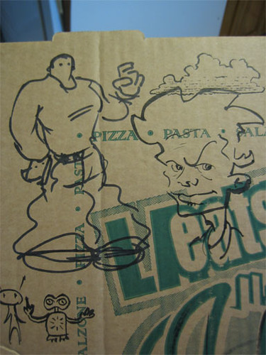 char28a - Pizza Box Doodles