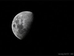 The 1st 30D Moon Shot  - 30DMoon_1 - by Daniel Y. Go