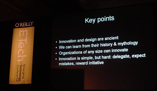 Innovatator's Key Points