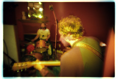 electric blur (johnnyalive) Tags: movement motion blur rockandroll film colorsplash thehalfrats band indie 35mm analog slidefilm xpro crossprocessed