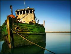 from the bow (jody9) Tags: abandoned topf25 oregon coast boat bravo ship ruin soe rogueriver magicdonkey abigfave anawesomeshot colorphotoaward impressedbeauty diamondclassphotographer flickrdiamond utata:project=upfaves