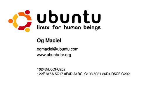 Ubuntu Business Card