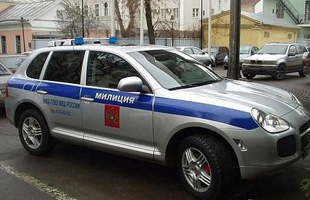 Carros De Policia Rusos