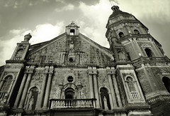 binondo church (jobarracuda) Tags: bw church lumix blackwhite faith catholicchurch toned fz50 binondochurch panasoniclumix jobarracuda