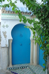 blue door (andreizinha) Tags: door blue holiday tunisia medina hammamet