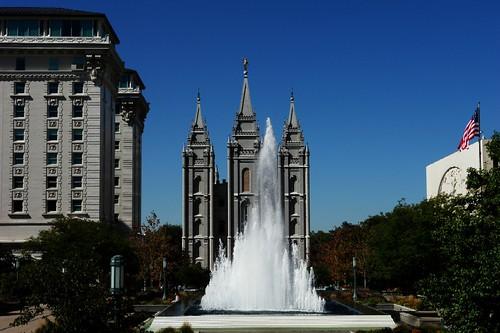 Salt Lake City Temple and church buildings