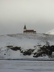 kostolík vo Víku / a church in Vík (new world) Tags: vík