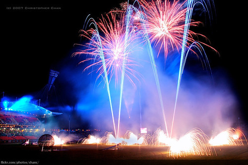 Royal Easter Show Fireworks (#218)