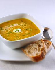 Butternut Squash Soup (fhansenphoto) Tags: food soup nikon d2x 800 sb stobist