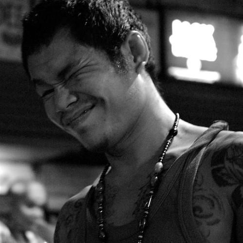 Muay Thai. Thailand. blackandwhite