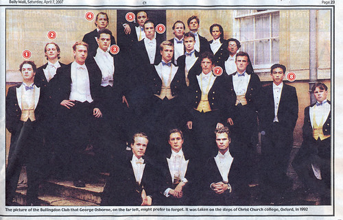 Osborne in the Bullingdon