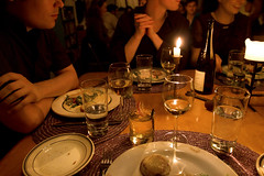 dinner companions (sgoralnick) Tags: andy dinner canon20d strangers delicious supperclub canonef1635mmf28lusm andyclymer whiskladle whiskandladle canonef1635mmf28liiusm