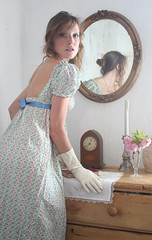 I've come over all Jane Austen   -  16th April (naughtonlucy) Tags: dressingup 365 janeausten demure ohmrdarcy
